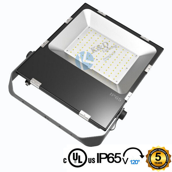 High Power 100w LED Floodlight Wall Mounted Type With Toughened Glass