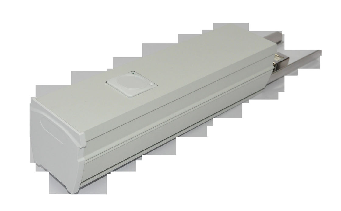 White 70W LED Linear Lighting Trunking System For Train / Bus Station / Office
